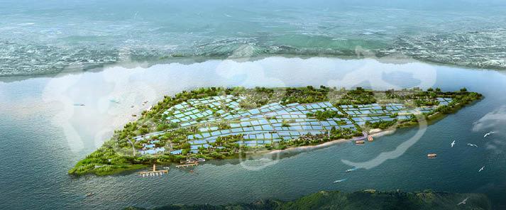 广东南海九江镇海寿岛旅游区详细规划